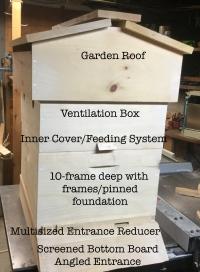10-frame Hillside Hived Starter Hive